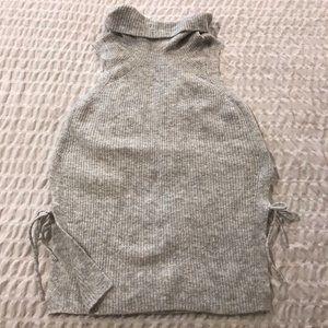 GxF Gentle Fawn fuzzy sleeveless tunic sweater top